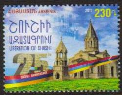 <font =1-834>834, Liberation of Shushi, 25th Anniversary, Scott # <br>Date of Issue: December 28<br> <a href=&quot;/images/ArmenianStamps-834.jpg&quot;>   <font color=green><b>View the image</b></a></font>