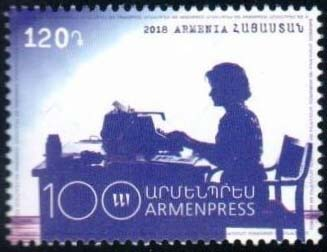 "<font =1-883>883, ArmenPress, 100th Anniversary, Scott #---- <br>Date of Issue: Dec 21<br> <a href=""/images/ArmenianStamps-883.jpg"">   <font color=green><b>View the image</b></a></font>"